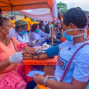 Nnewi Stands Still As Ozigbo Holds walk  for health Exercise